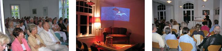 Raumnutzung im Literaturhaus Schleswig-Holstein, Kiel